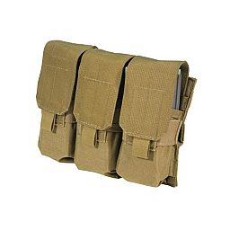 BLACKHAWK S.T.R.I.K.E. M4- Triple Mag Pouch (Holds 6) wSpeed